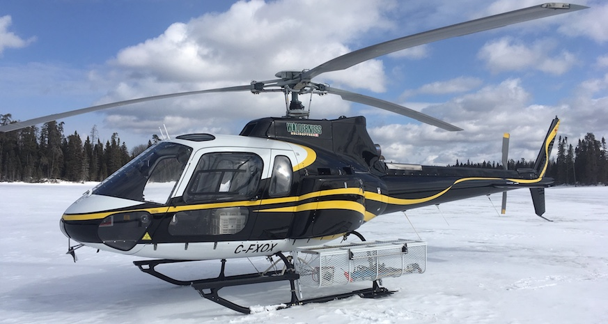 Wilderness Helicopters   Northern Ontario Helicopter Services   Aircraft
